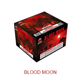 Blood Moon Fireworks cake