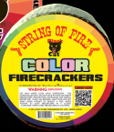 string of fire firecrackers