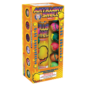 Brothers Pyrotechnics Artillery Shells