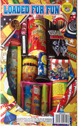 Loaded for Fun Fireworks