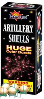 Artillery shells 6 pack