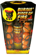Burning Rings Artillery Shells