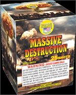 massive destruction