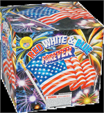 Red White & Blue Forever 500 gram